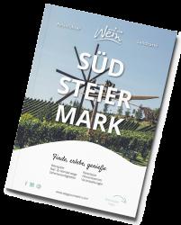 Front_Reisefuehrer_Suedsteiermark_schraeg_landkarte